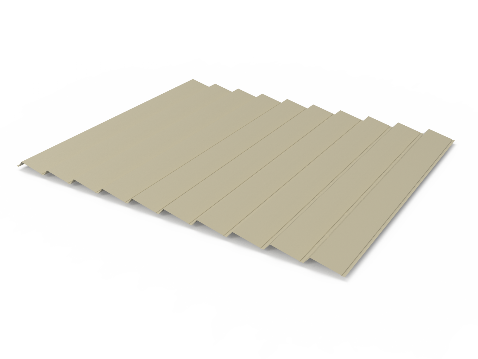 Panel Sandwich metalico para cubiertas